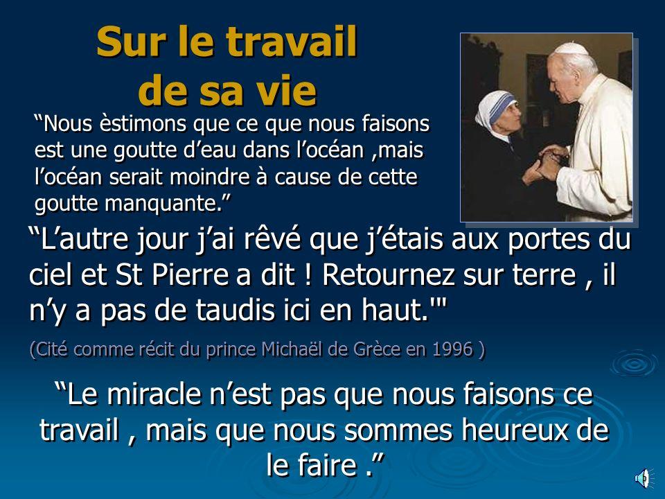 Lautre jour jai rêvé que jétais aux portes du ciel et St Pierre a dit .