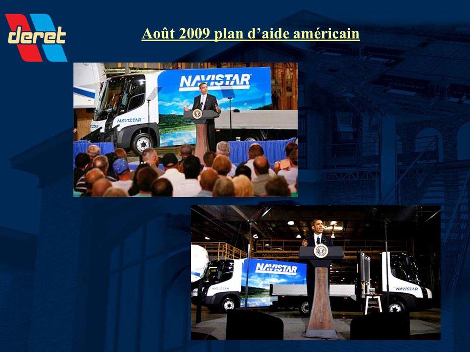 Août 2009 plan daide américain