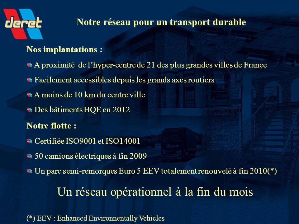 Nos implantations : A proximité de lhyper-centre de 21 des plus grandes villes de France Facilement accessibles depuis les grands axes routiers A moin