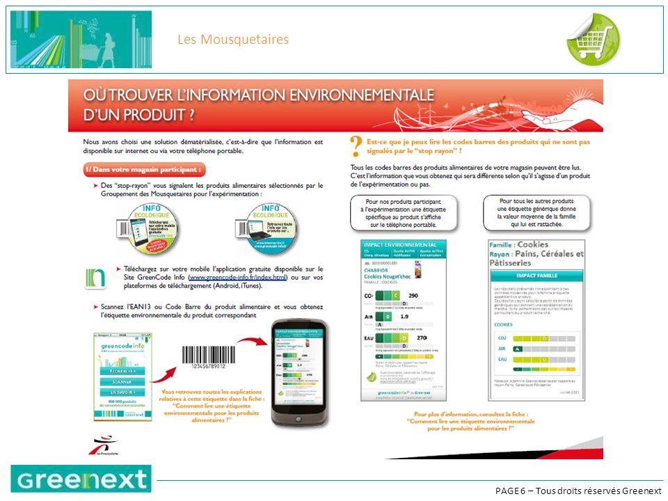 PAGE 17 – Tous droits réservés Greenext Différencier les produits