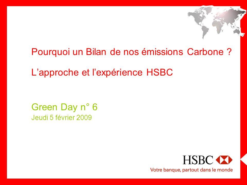 330 000 personnes Dans 85 pays Le Groupe HSBC