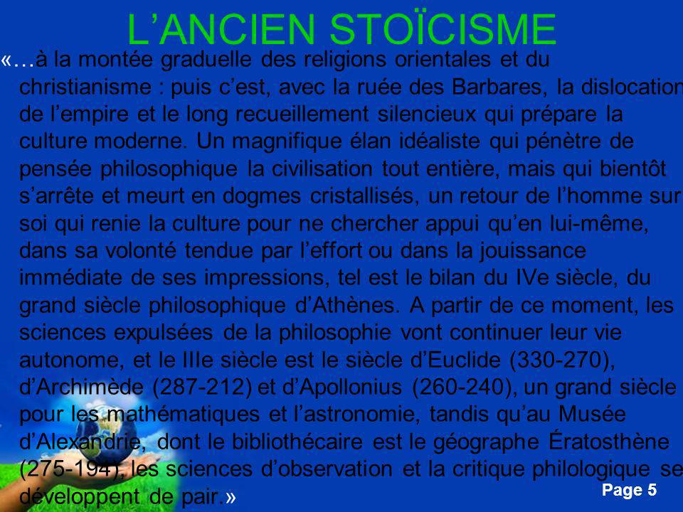 Free Powerpoint Templates Page 136 CICÉRON Les paradoxes des stoïciens....«...