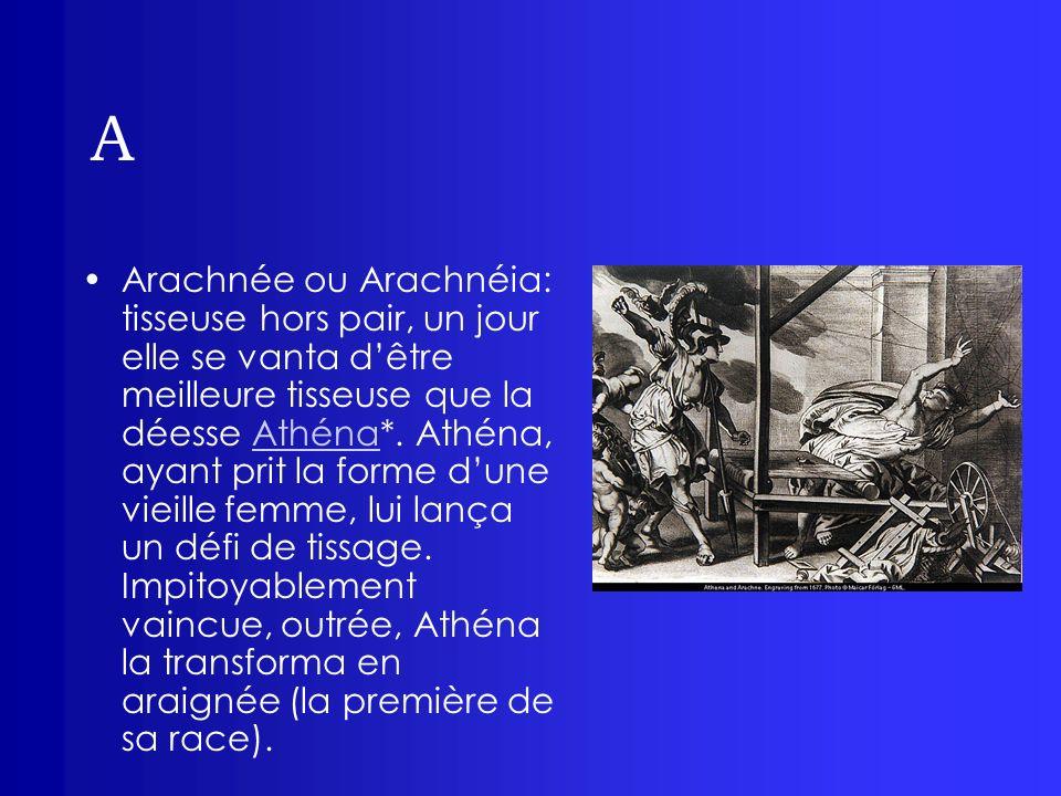A Asclépios: fils dApollon* et de Coronis, divinité de la médecine.