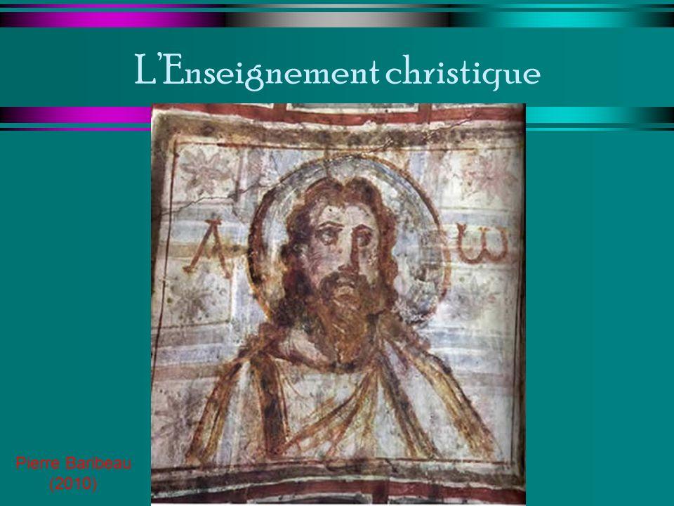 LEnseignement christique Pierre Baribeau (2010)