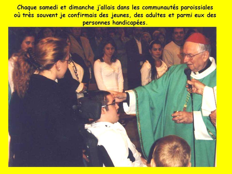 Lourdes, chaque année en pèlerinage diocésain avec notamment des pèlerins malades en fauteuil roulant