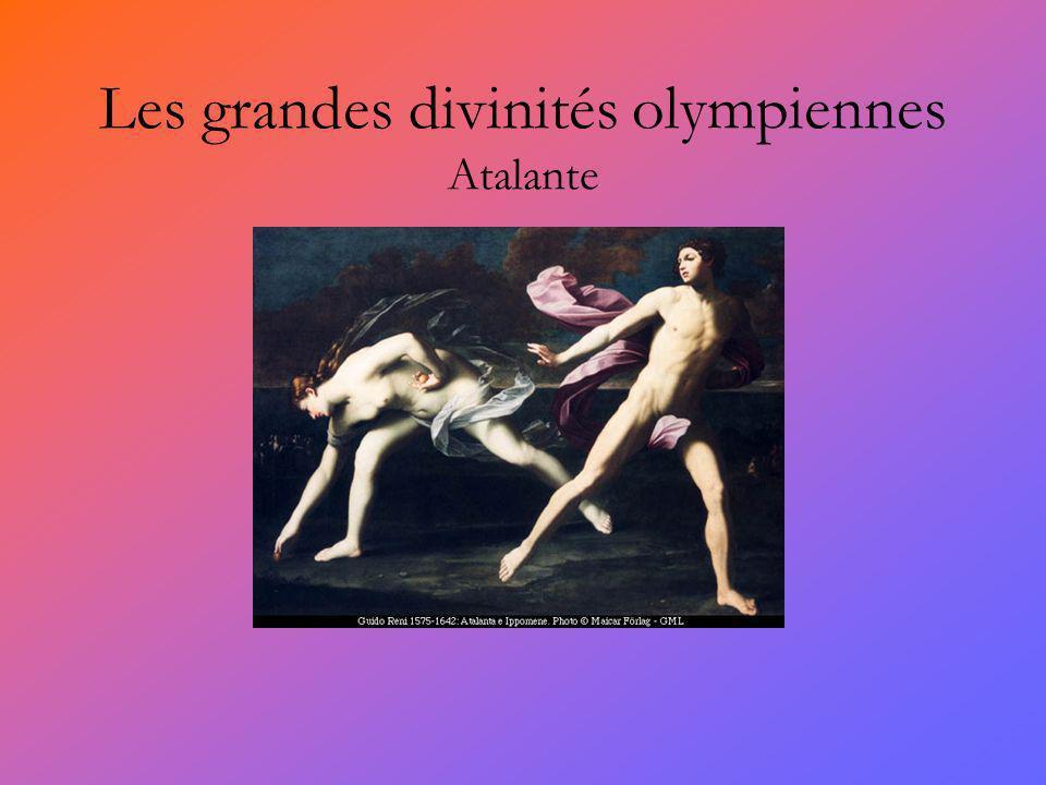 Les grandes divinités olympiennes Atalante