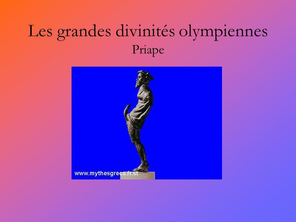 Les grandes divinités olympiennes Priape