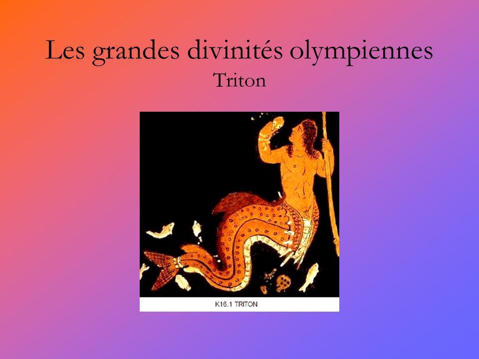 Les grandes divinités olympiennes Triton