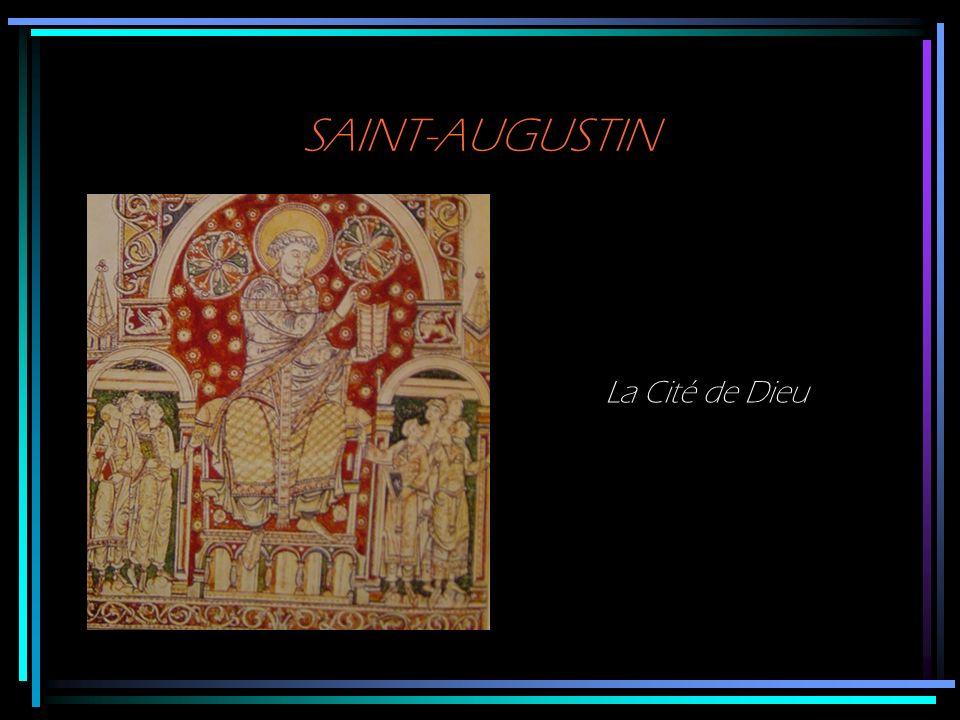 SAINT-AUGUSTIN La Cité de Dieu