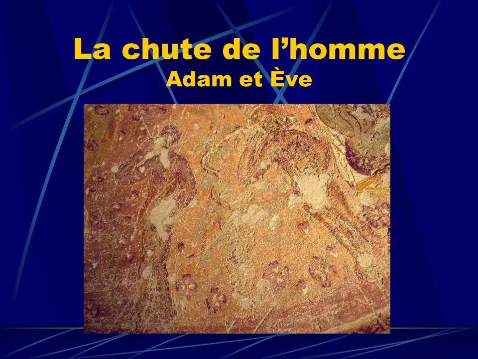 La chute de lhomme Adam et Ève