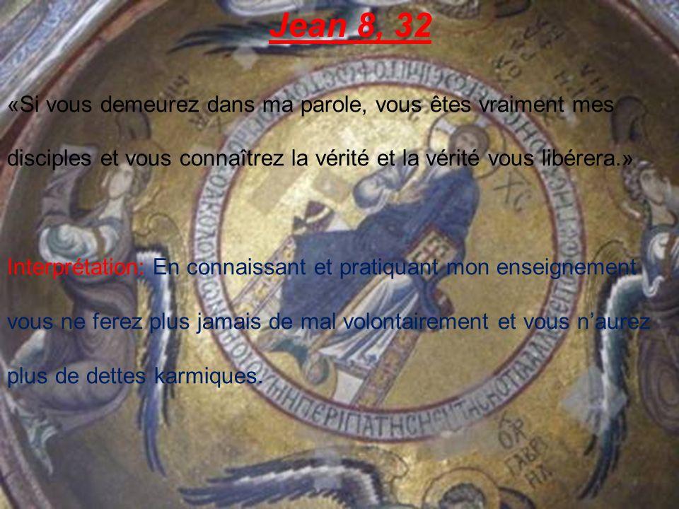 Jean 10, 30; 38 «Moi et le Père, nous sommes un.