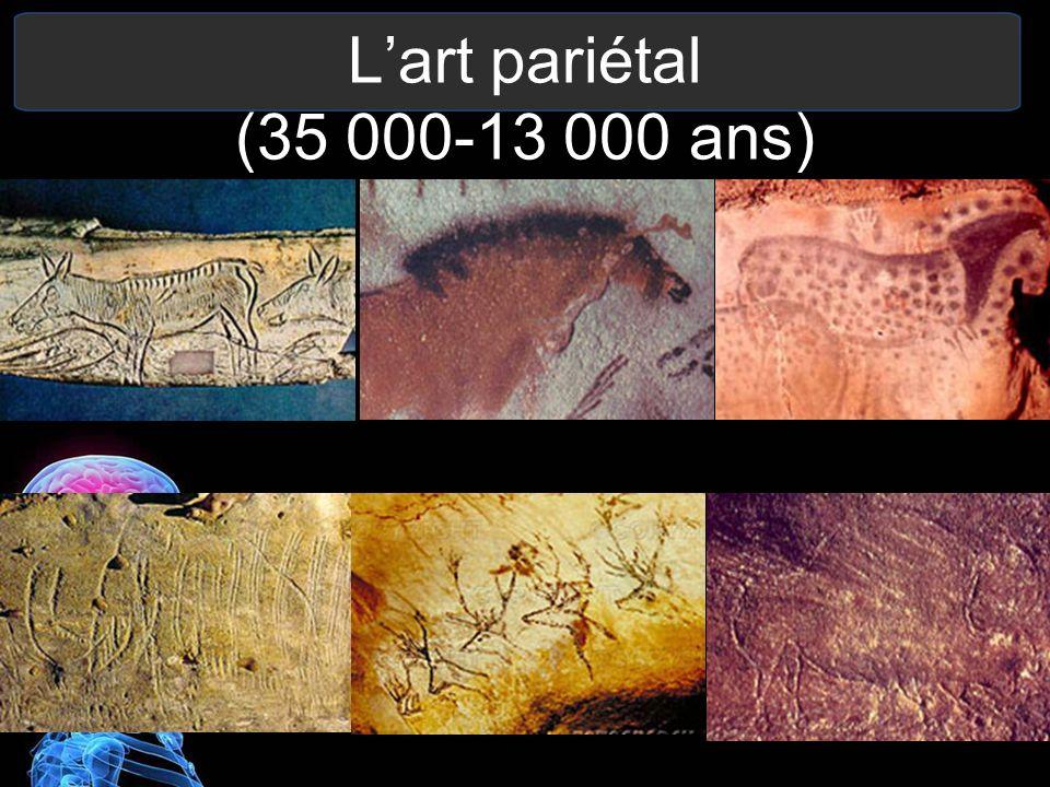 Grotte de Lascaux (Paléolithique supérieur) Plus de 35 000 gravures.