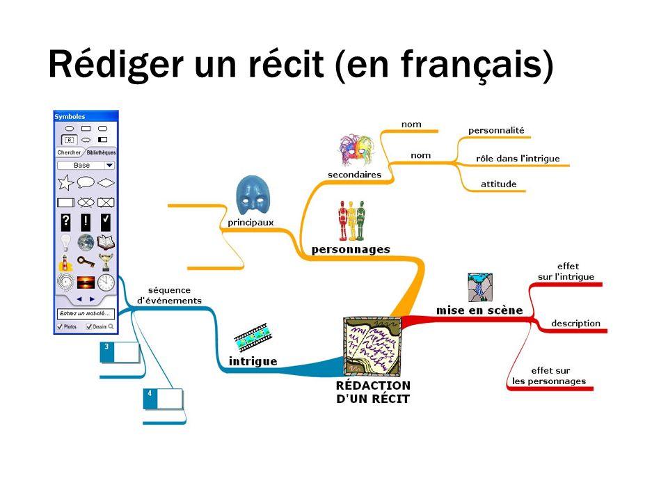 Rédiger un récit (en français)