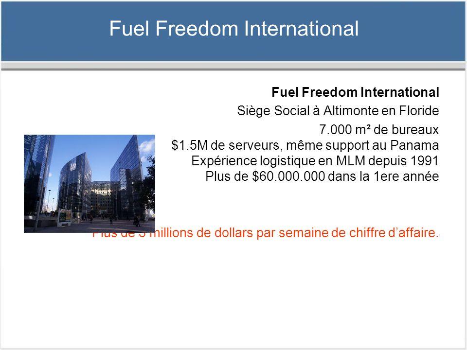 Fondateur de FFi (Fuel Freedom International) Randy et son épouse, Wendy Lewis, possèdent et managent une compagnie mondiale qui fournit un revenu à plus de 125.000 distributeurs et permet des économies importantes de carburant aux automobilistes mondialement frappés par les augmentations incessantes des prix du carburant.