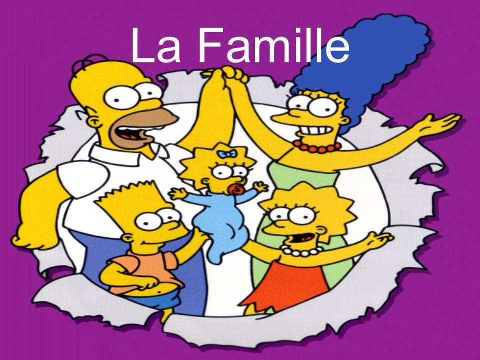 Bart est le frère de Lisa et Maggie. Bart est le fils de Marge et Homer. Le frère Le fils
