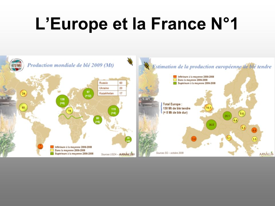 LEurope et la France N°1