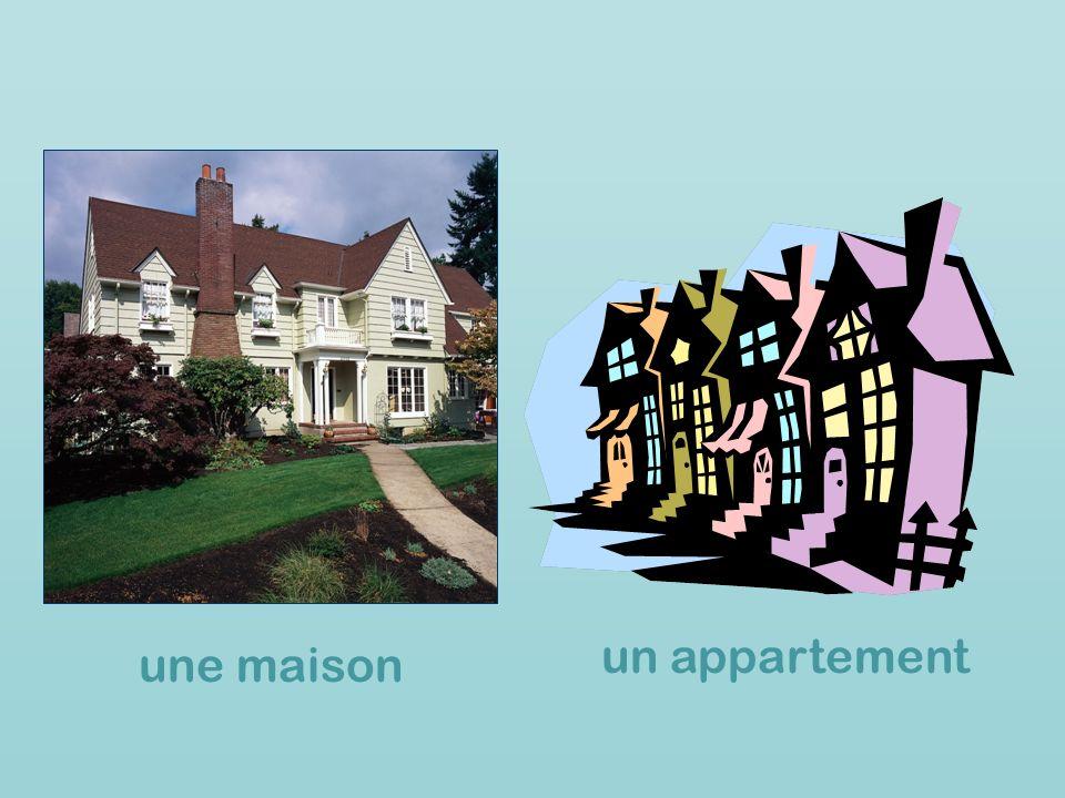 une maison un appartement