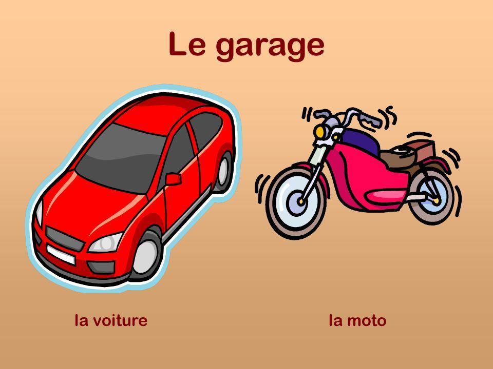 Le garage la voiturela moto
