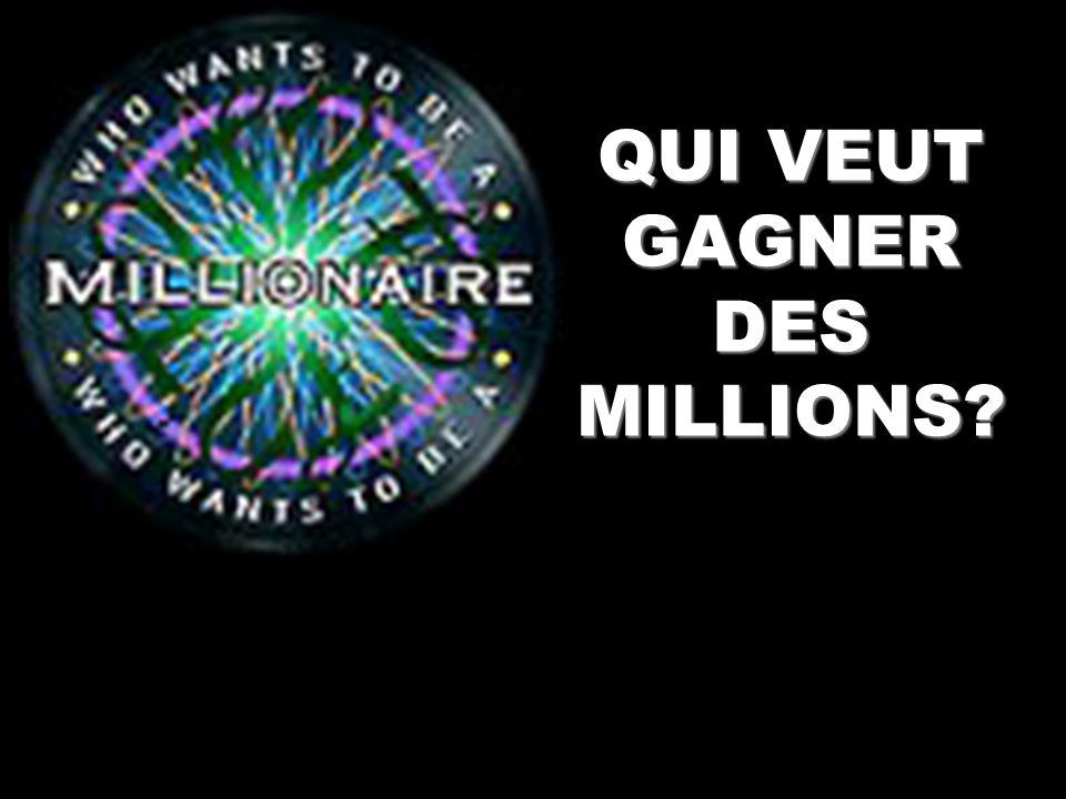 Les prix 1 – 100 2 - 200 3 - 500 4 - 1,000 5 - 2,000 6 - 4,000 7 - 8,000 8 - 16,000 9 - 32,000 10 - 64,000 11- 125,000 12- 250, 000 13- 500,000 14- 100,000