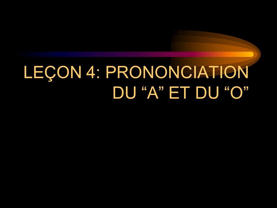 I. PHONÉTIQUE ET PRONONCIATION FREN 301 Prononciation et Conversation