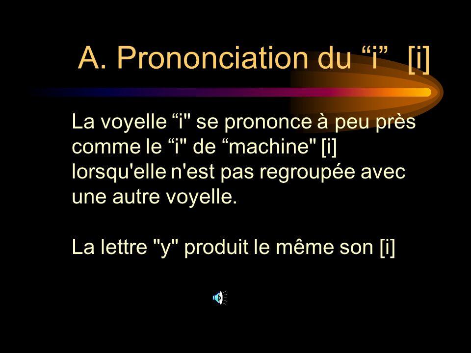 LEÇON 5: PRONONCIATION 1) Les voyelles i etu 2) La consonne c