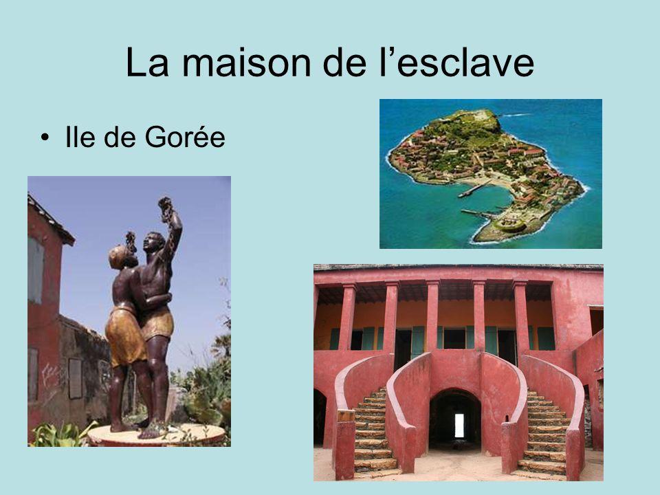 La maison de lesclave Ile de Gorée