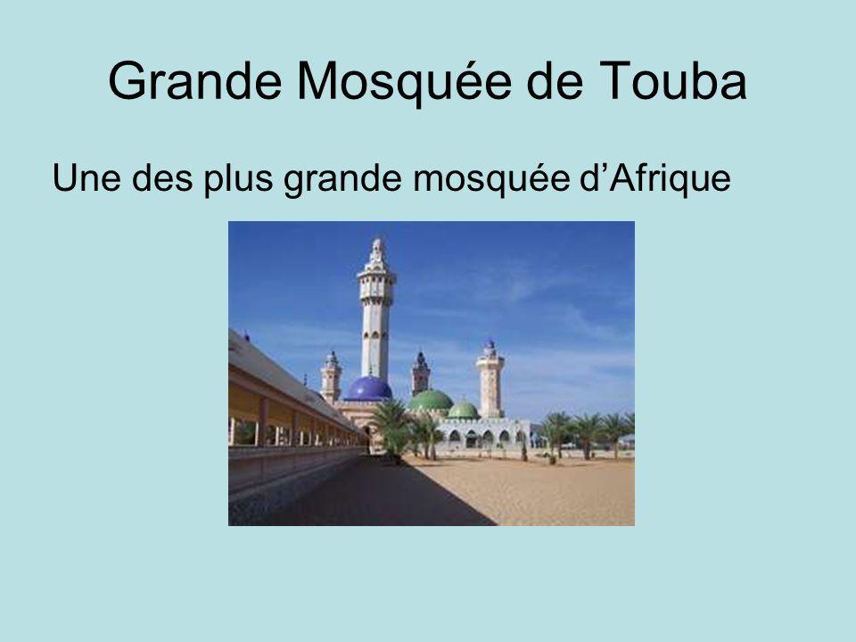 Grande Mosquée de Touba Une des plus grande mosquée dAfrique