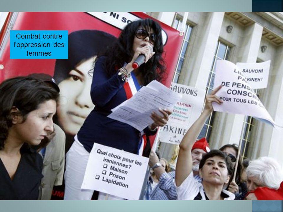 Combat contre loppression des femmes