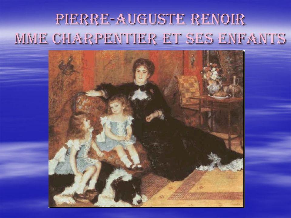 PIERRE-auguste renoir Mme charpentier et ses enfants
