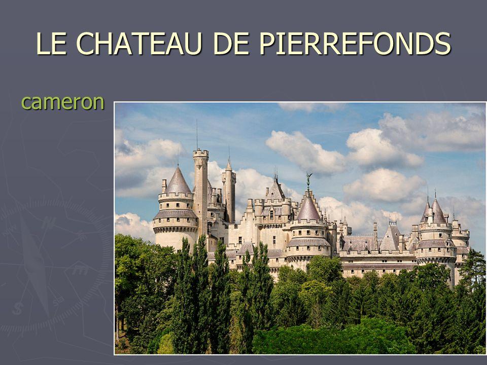 17 LE CHATEAU DE PIERREFONDS cameron
