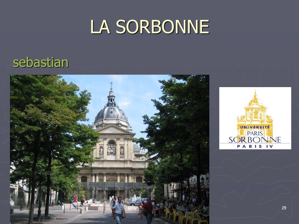 29 LA SORBONNE sebastian