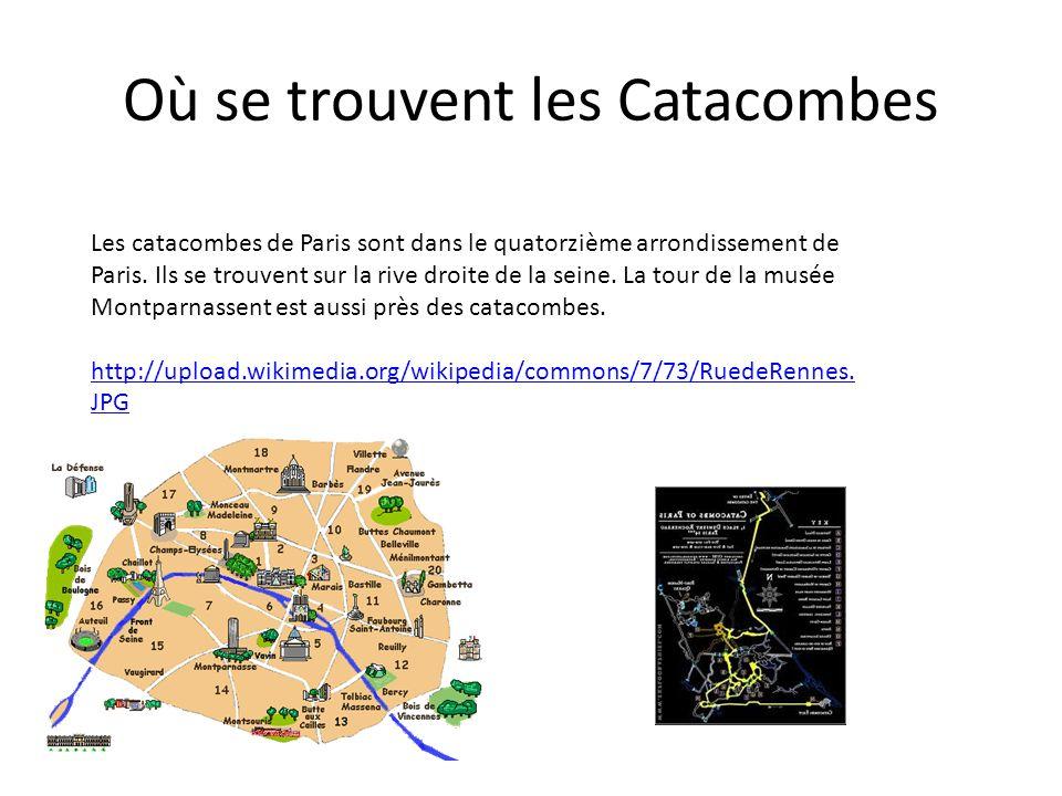 Les Catacombes sont les tunnels dessous Paris. par George Melman-Kenny