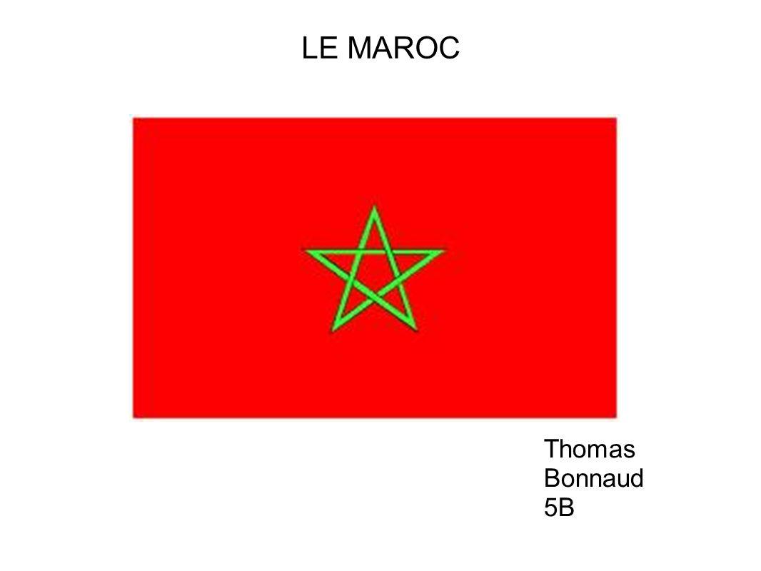 LE MAROC Thomas Bonnaud 5B