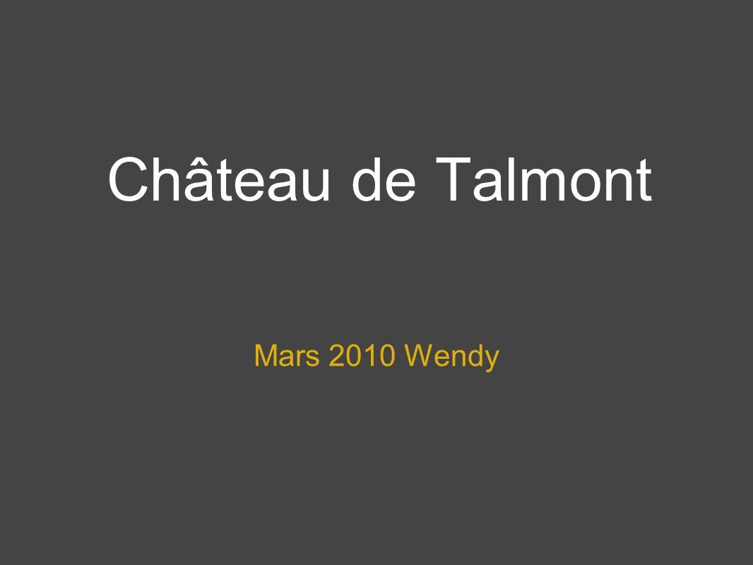 Château de Talmont Mars 2010 Wendy