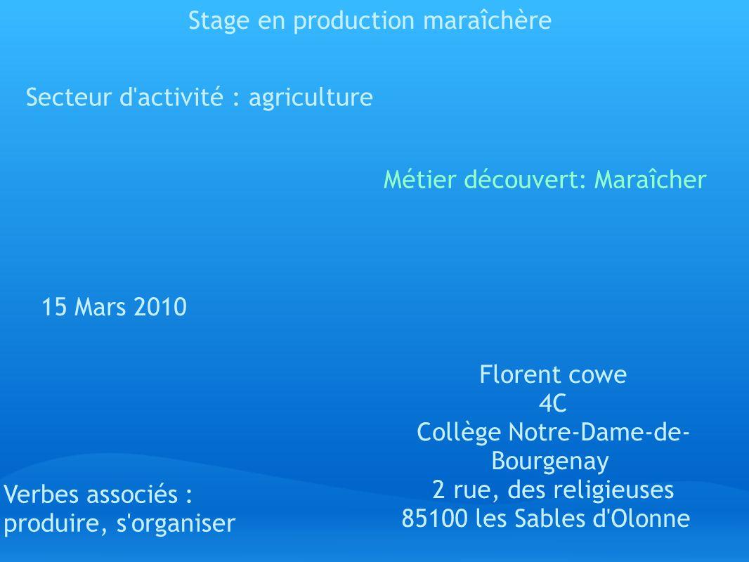 Sommaire 1.Page de présentation 2. SOMMAIRE 3. Convention de stage 4.