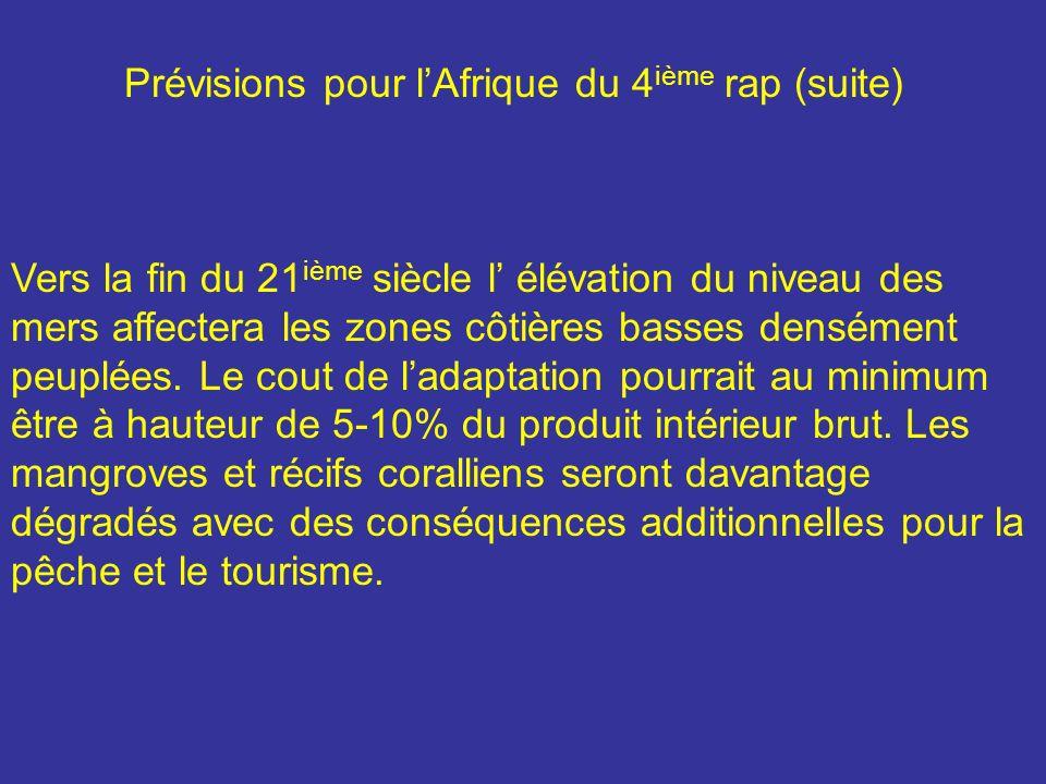 De nouvelles études ont confirmé que lAfrique est lun des continents les plus vulnérables à cause de stress multiple et dune faible capacité dadaptation.