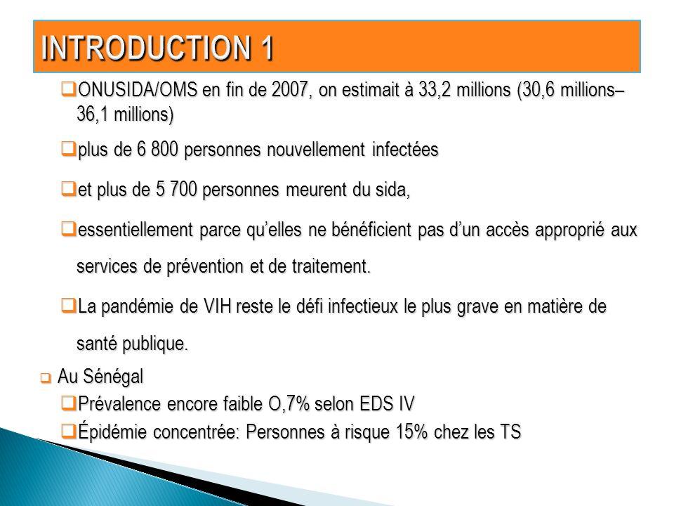 ONUSIDA/OMS en fin de 2007, on estimait à 33,2 millions (30,6 millions– 36,1 millions) ONUSIDA/OMS en fin de 2007, on estimait à 33,2 millions (30,6 m