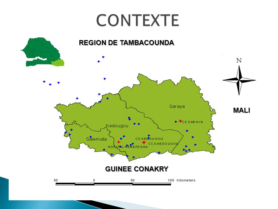 MALI GUINEE CONAKRY REGION DE TAMBACOUNDA