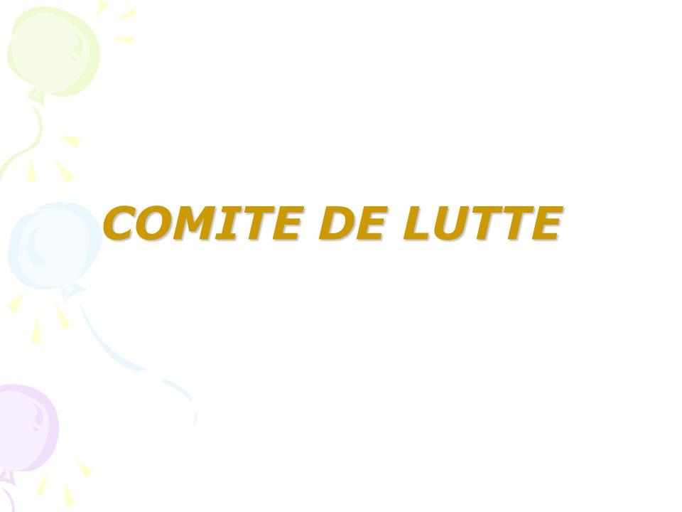 COMITE DE LUTTE