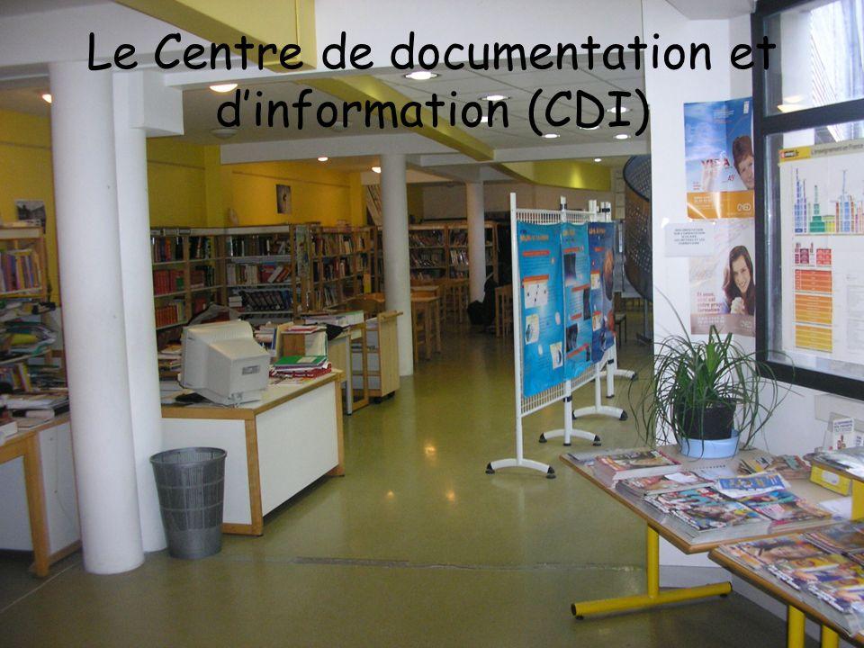 Le Centre de documentation et dinformation (CDI)