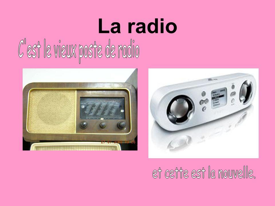 La musique Avec le temps les appareils de la musique ont beaucoup changé.
