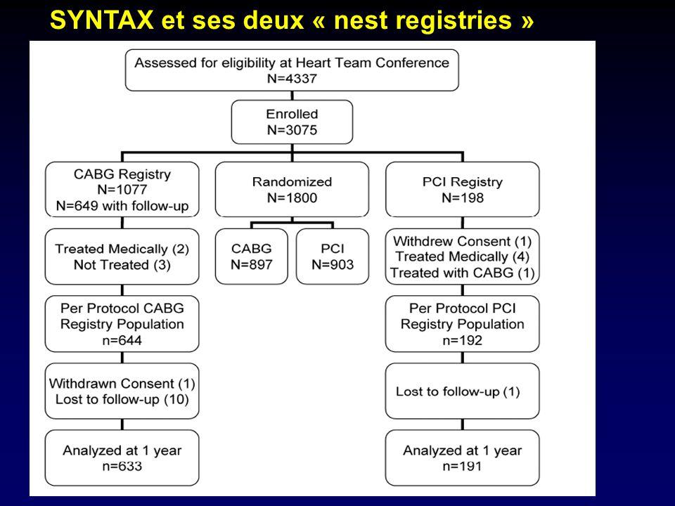 SYNTAX et ses deux « nest registries »
