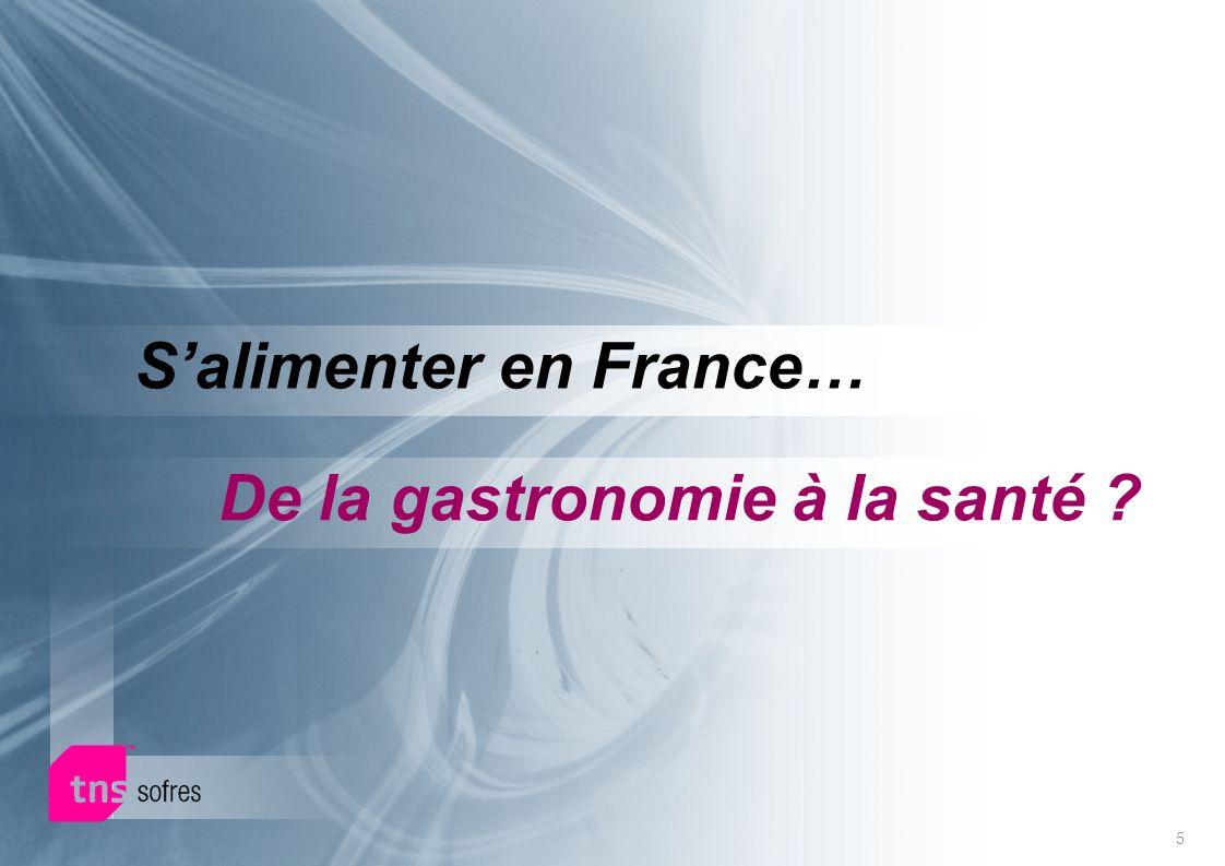 5 Salimenter en France… De la gastronomie à la santé