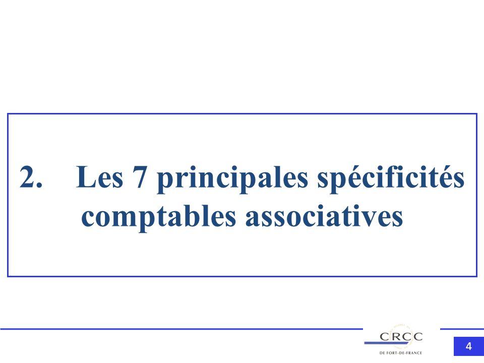 444 2. Les 7 principales spécificités comptables associatives