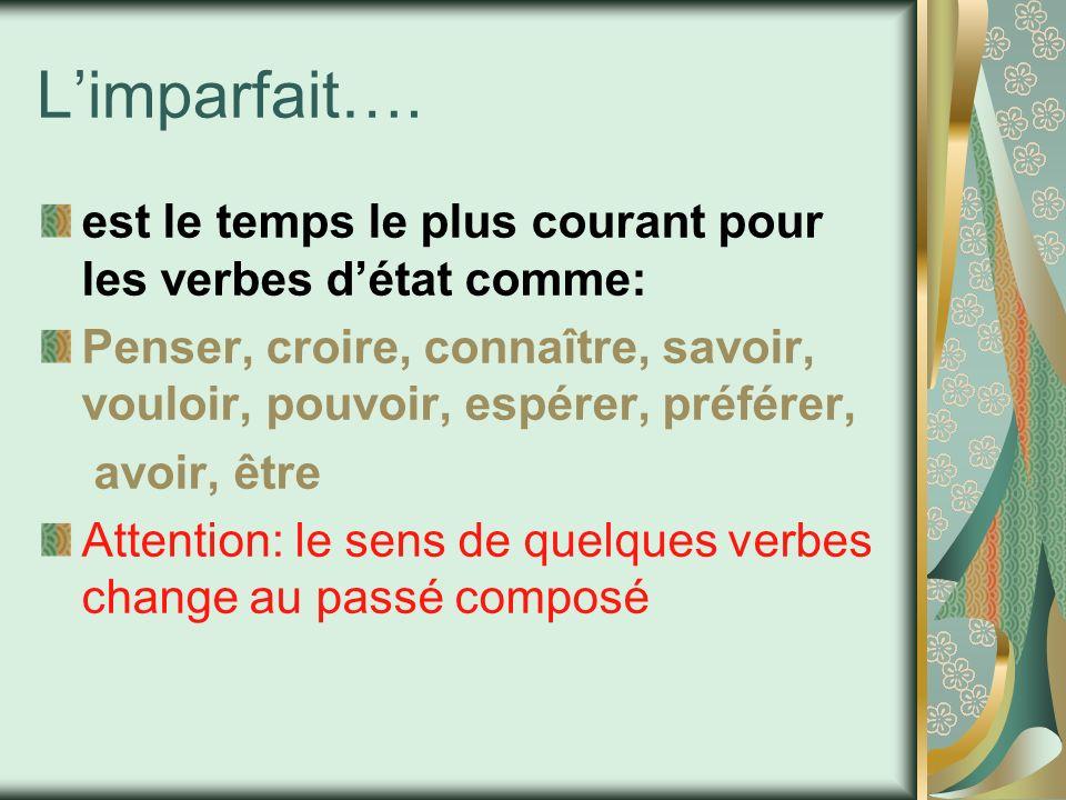 Limparfait….
