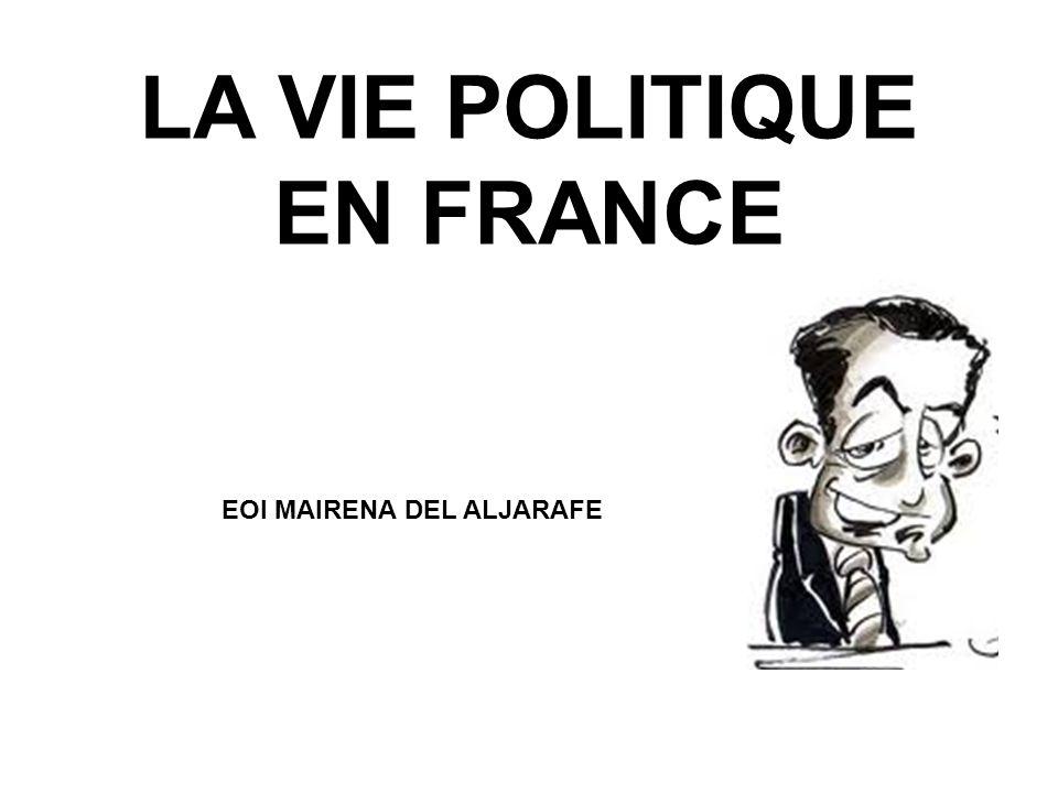 LA VIE POLITIQUE EN FRANCE EOI MAIRENA DEL ALJARAFE