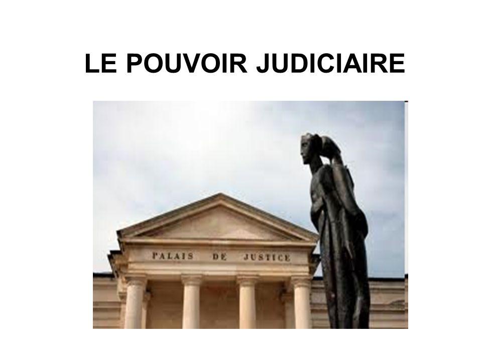 LE POUVOIR JUDICIAIRE