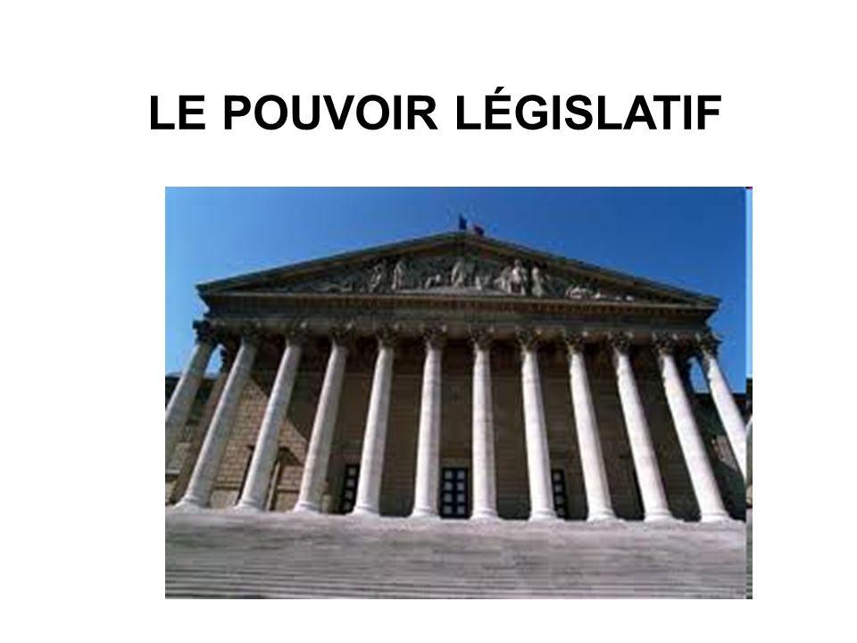 Le pouvoir législatif appartient au Parlement, formé de deux chambres, lAssemblée nationale et le Sénat.