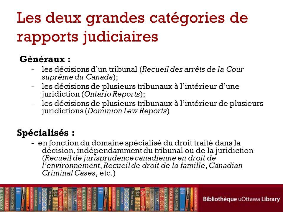 La structure dune décision judiciaire Lintitulé de la cause : les noms des parties – ex.