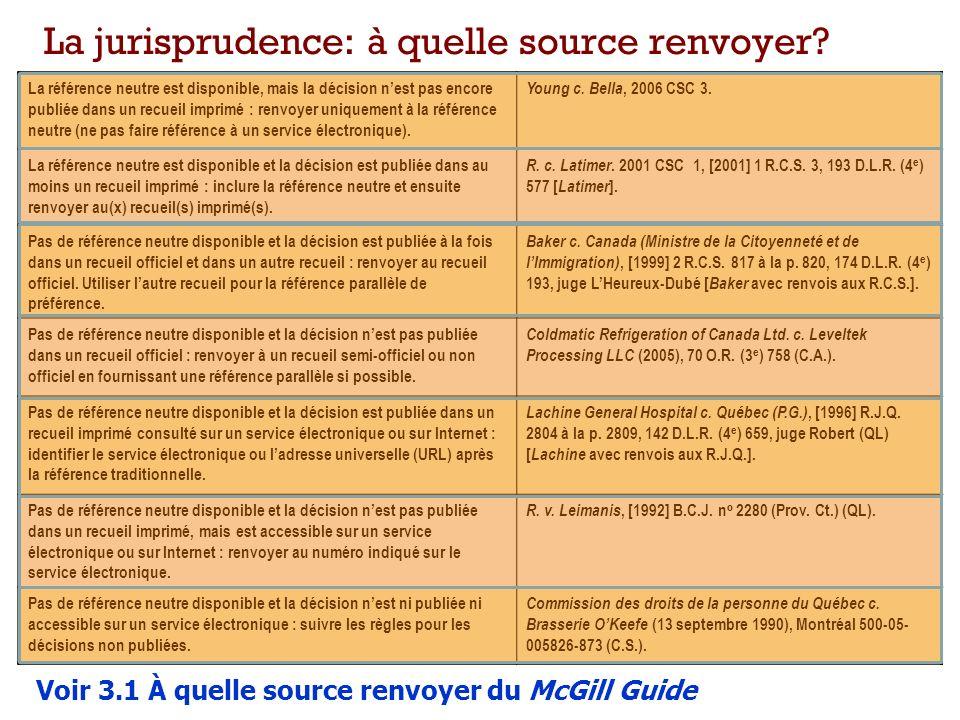 La référence neutre est disponible, mais la décision nest pas encore publiée dans un recueil imprimé : renvoyer uniquement à la référence neutre (ne pas faire référence à un service électronique).